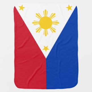Philippines Flag Receiving Blankets