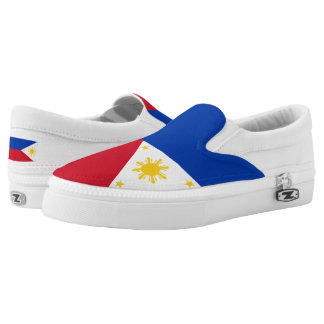 Philippines Flag Slip-On Sneakers