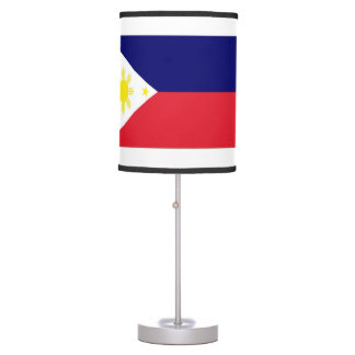 Philippines Flag Table Lamp
