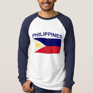 Philippines Flag Tee Shirts