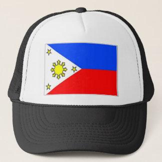 philippines-flag trucker hat