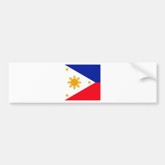 Philippines High quality Flag Bumper Sticker