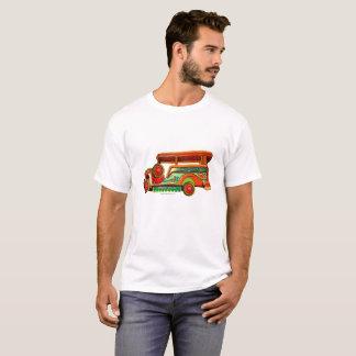 Philippines Jeepney - vintage paintbrush T-Shirt