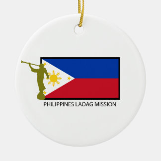 PHILIPPINES LAOAG MISSION LDS CTR CERAMIC ORNAMENT