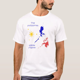 Philippines Map Graphic T-Shirt