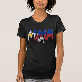 Philippines MMA Skull Ladies T-shirt