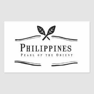 Philippines Pearl of the Orient Sticker