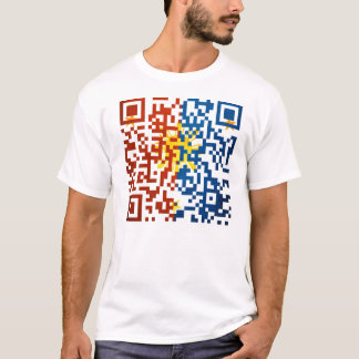 Philippines Pinoy 2d barcode T-Shirt