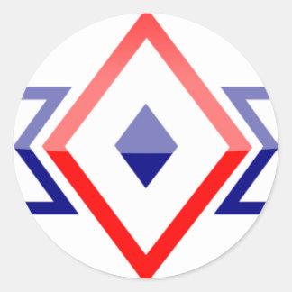 philippines round sticker