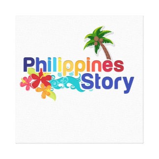 Philippines Story Canvas Print