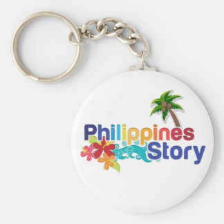 Philippines Story Keychain