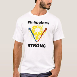 "Philippines Strong ""Support the Philippines"" T-Shirt"