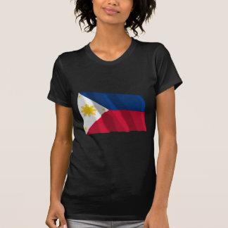 Philippines Waving Flag Tee Shirt