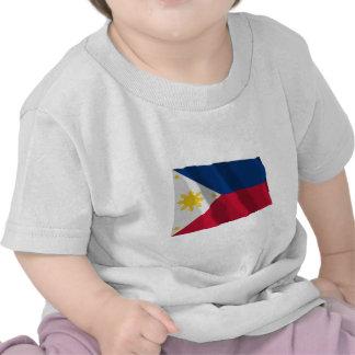 Philippines Waving Flag T-shirts