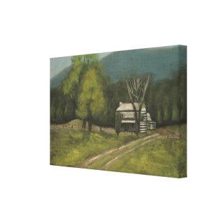 """Philip's Place (12.31"""" x 8"""" x 0.75"""") Canvas Print"""