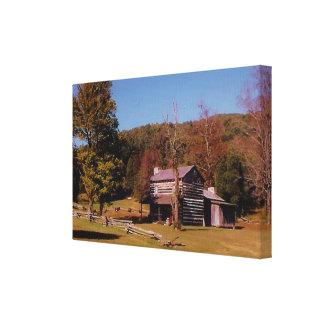 """Philip's Place, Colored Alt. (12.31"""" x 8"""" x 0.75"""") Canvas Print"""