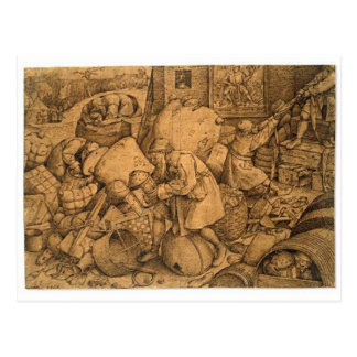 Philistine by Pieter Bruegel the Elder Postcard