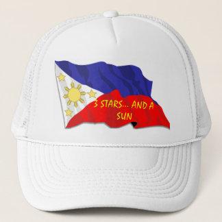 Phillipino Flag Hat