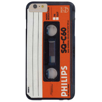 Phillips Audio Cassette Tape SQ C60 Barely There iPhone 6 Plus Case