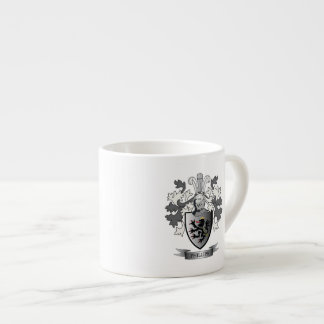 Phillips Family Crest Coat of Arms Espresso Cup