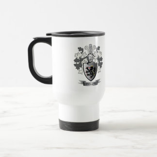 Phillips Family Crest Coat of Arms Travel Mug