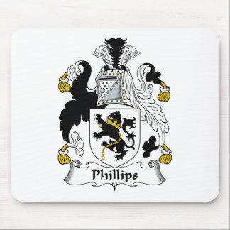 Phillips Family Crest Mouse Pad