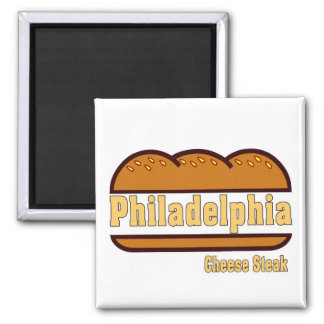 Philly Cheese Steak Magnet