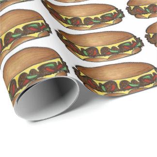 Philly Cheese Steak Sandwich Cheesesteak Gift Wrap