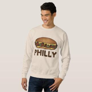 Philly Cheesesteak Steak Sandwich Sweatshirt