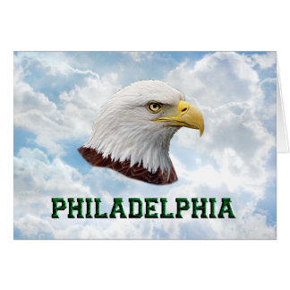 Philly Eagle - Horizontal Greeting Card