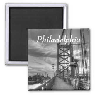 Philly from the bridge magnet
