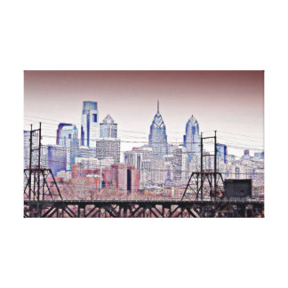 Philly Grit Canvas Print