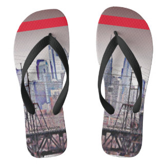 Philly Grit Flip Flops