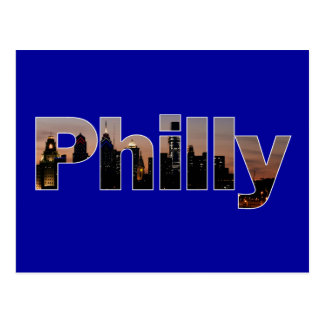 Philly Letters Postcard