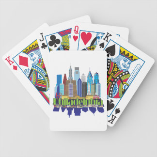 Philly New Icon Bicycle Playing Cards