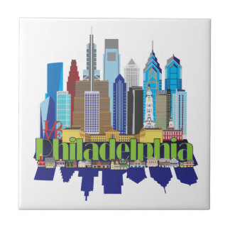 Philly New Icon Ceramic Tile