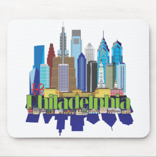 Philly New Icon Mouse Pad