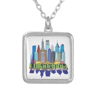 Philly New Icon Silver Plated Necklace