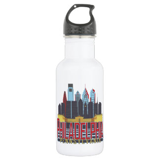 Philly Red & Blue 532 Ml Water Bottle