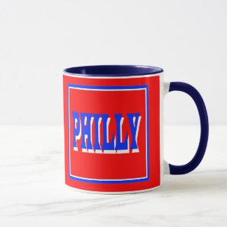 Philly Red Square Mug