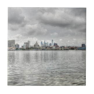 Philly skyline tiles