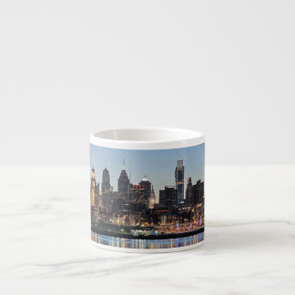 Philly sunset espresso cup