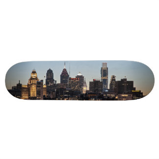 Philly sunset skate board deck