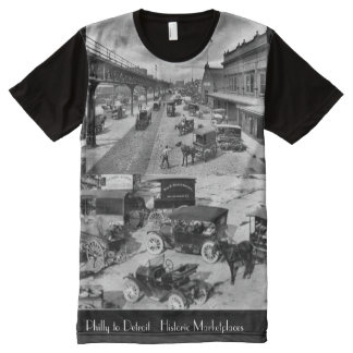 Philly to Detroit Historic Marketplaces All-Over-Print T-Shirt