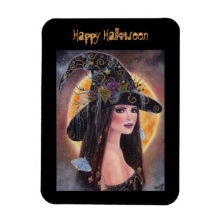 Philomena Halloween magnet spooky witch  by Renee