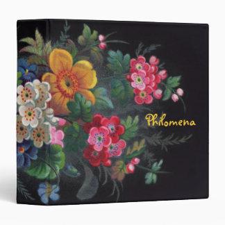 Philomena Victorian Bouquet Binder