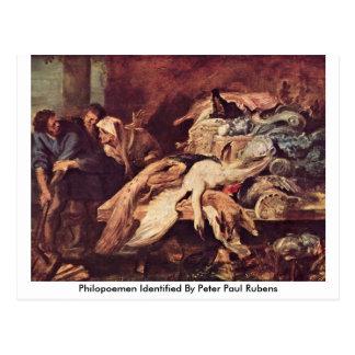 Philopoemen Identified By Peter Paul Rubens Postcard