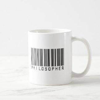 Philosopher Bar Code Coffee Mug