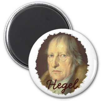 Philosopher Georg Hegel Magnet