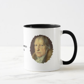Philosopher Georg Hegel Mug